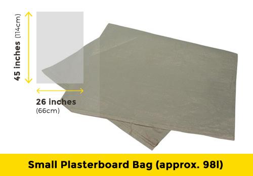 Small plasterboard bag