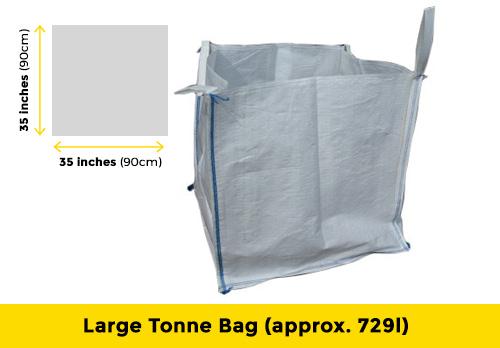 large tonne bag